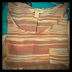 Decree sheer blouse